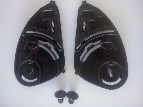 reparo / kit fixador de viseira capacete fly drive