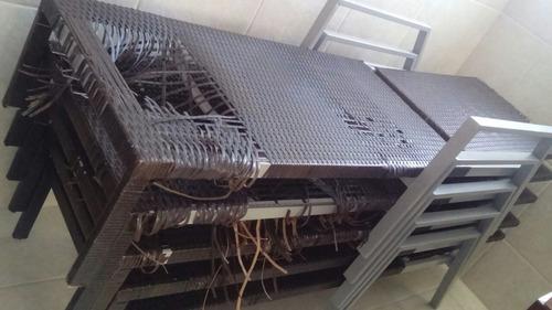 reparo muebles de rattan sintético o mimbre