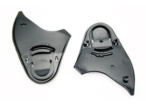 reparo viseira capacete fokker /  agile / mx5 - chassi (par)