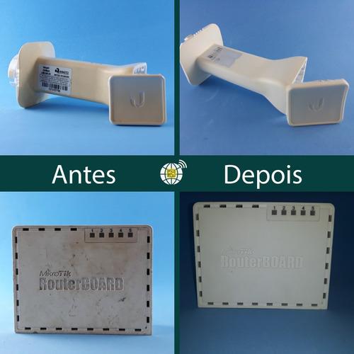 reparos ubiquiti | conserto intelbras | manutenção mikrotik