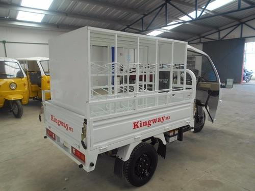 reparto de agua para 30 garrafones  motocarro 2018 200 cc