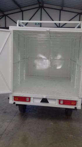 reparto motocarro 2018 caja metálica kingway