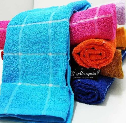 repasador de toalla a cuadros la docena