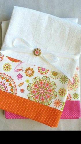 repasadores artesanales con telas importadas