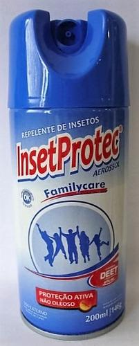 repelente aero insetprotec 200ml/146g cx c/6 un