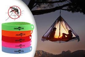 repelente ahuyentador en pulsera contra zancudos y mosquitos