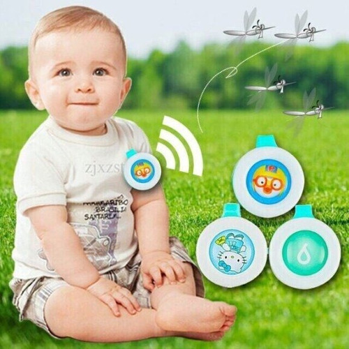 repelente bebé botón