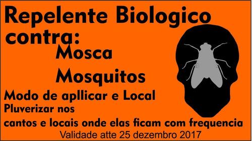 repelente biologico contra moscas e mosquitos spray 60 ml