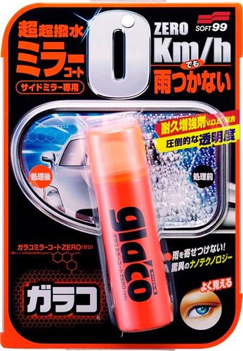 repelente de água glaco zero retrovisores externos soft 99