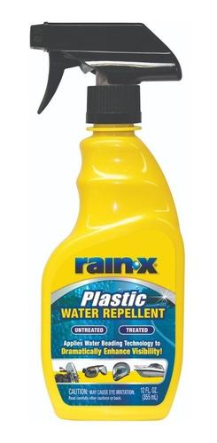 repelente de agua plásticos casco moto rain x