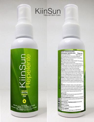 repelente de mosquitos biodegradable kiin sun