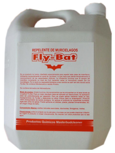 repelente de murcielagos  fly - bat