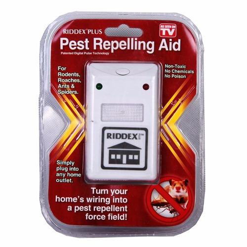 repelente de ratones e insectos riddex