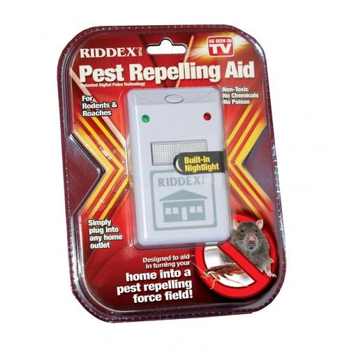 repelente electronico de plagas, roedores ridex sin quimicos