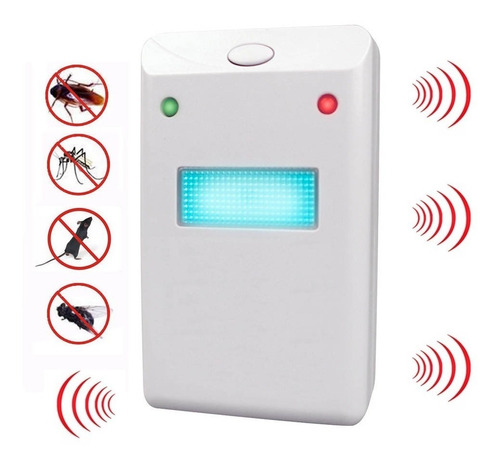 repelente electronico ratones cucarachas plagas no toxico