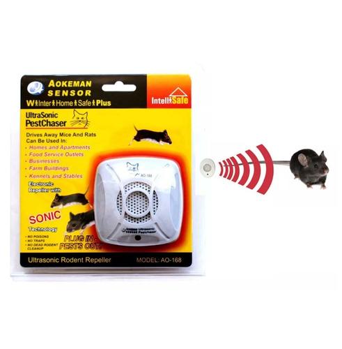 repelente electronico ultrasonido ratones plagas / hb import