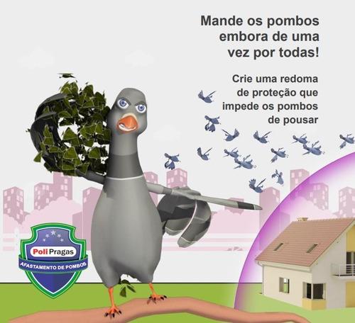 repelente eletromagnético para afastamento de pombos