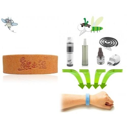 repelente en brazalete o pulsera para mosquitos