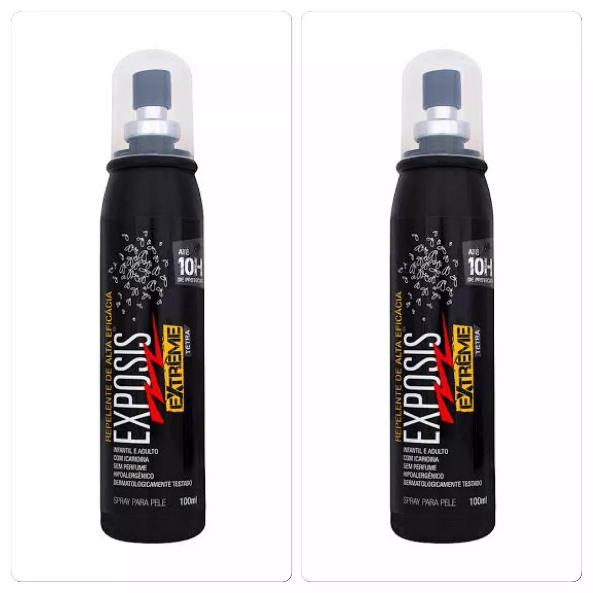 ef8192145 repelente exposis extreme spray 100ml repelente( 2 unidades). Carregando  zoom.