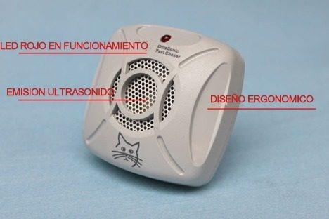 repelente para ratones ultrasonido electrónico