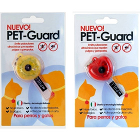 Repelente Pulgas Garrapatas Para Perros Y Gatos Pet Guard