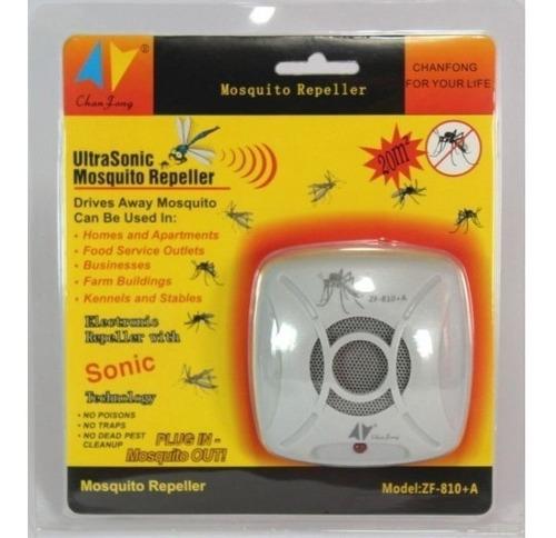 repelente ultrasonico de mosquitos zancudos 20m