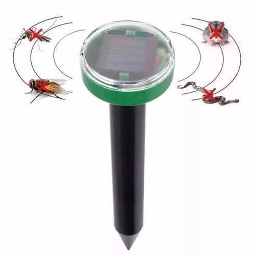 repelente ultrassônico energia solar espanta cobra escorpião