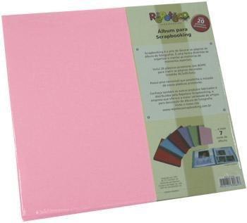 repeteco - álbum liso rosa fidji