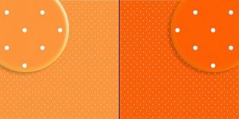 repeteco - duo básico bolas laranja/laranja - gérbera