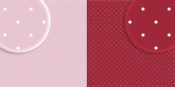 repeteco - duo básico bolas rosa/vinho - azaléia
