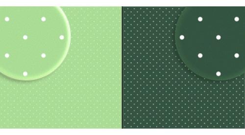 repeteco -duo básico bolas verde claro/v.escuro - hortelã