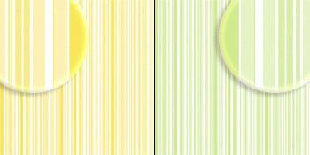 repeteco - duo básico listras verde/amarelo - limão