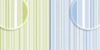 repeteco - duo básico listras verde/azul - manjericão