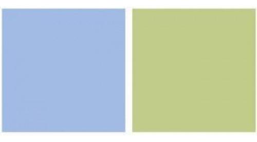 repeteco - linha duo verde/azul - manjericão