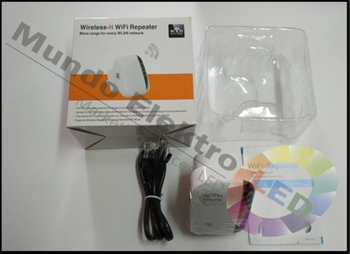 repetidor acces point amplificador de señal wifi 300mbps 2db