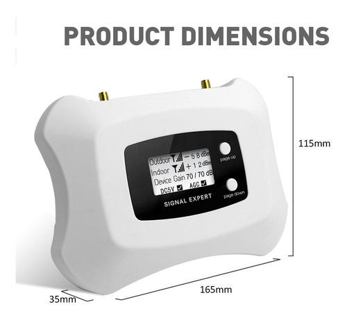 repetidor amplificador 3g 4g aws1700mhz teléfono anten yagi