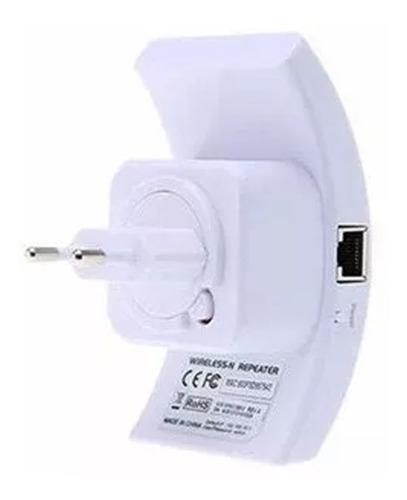 repetidor amplificador melhora sinal wifi 300mbps botao wps