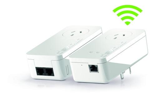 repetidor amplificador wifi devolo dlan 550 starter kit plc