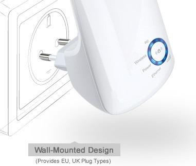 repetidor amplificador wifi tp-link tl-wa850re 300mbps