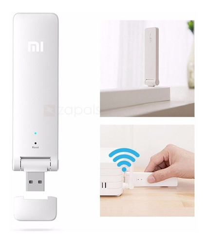 repetidor amplificador wifi xiaomi mi, versión 2, 300 mbps