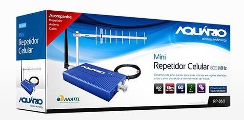repetidor de celular aquário completo - 800mhz vivo gsm 3g