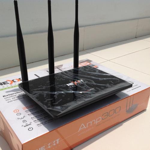 repetidor de señal wifi de alta potencia + soporte