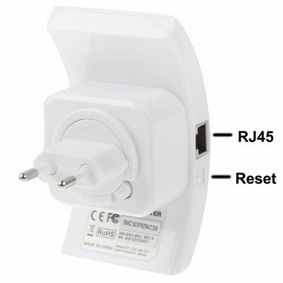 repetidor de sinal expansor rede wireless wifi 300mbps rj45