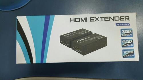 repetidor de sinal hdmi extender   60mts  next  cód 1387