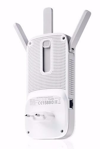 repetidor de sinal tplink re450 1750mbps extensor wifi ac