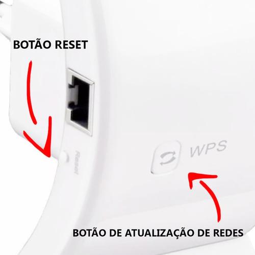 repetidor de sinal wifi expansor wireless 300m internet
