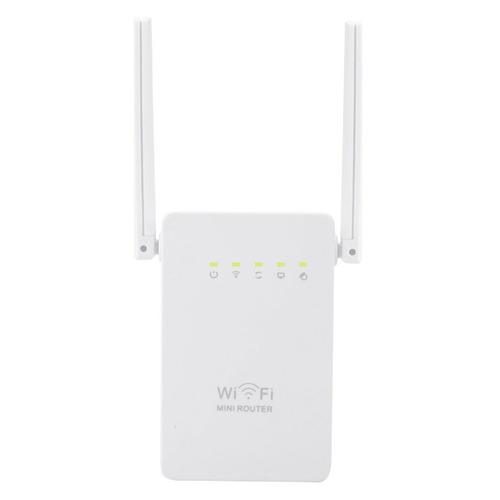 repetidor de wi-fi da antena dobro de 300mbps mini (plugue d