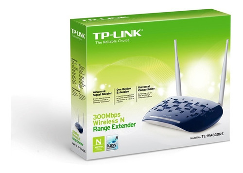 repetidor extensor access point 300mbps tplink wa830re