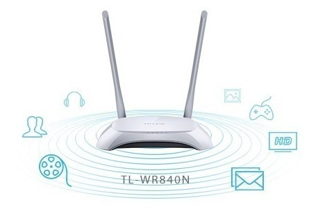 repetidor extensor wifi acces point tp-link tl-wr840n 300mbp