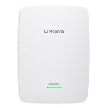 repetidor extensor wireless linksys wifi re4000w dual band